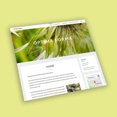 Optima Forma website